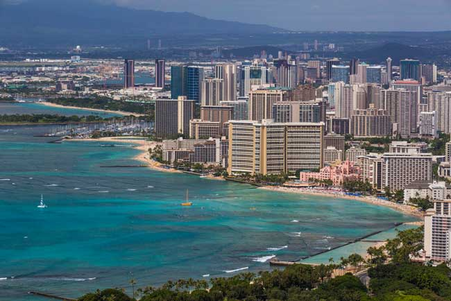 Travel in Honolulu, Hawaii