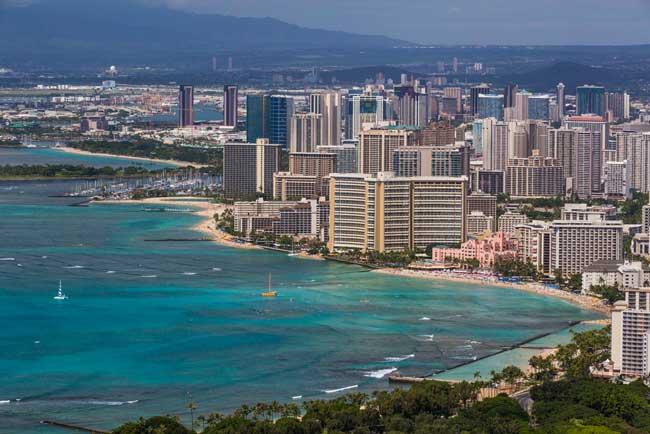 Travel in Honolulu, Hawaii