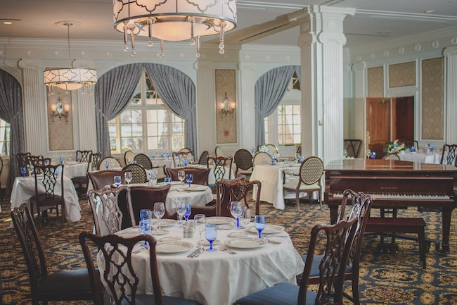Regency Room, the main dining room. Photo courtesy of Hotel Roanoke