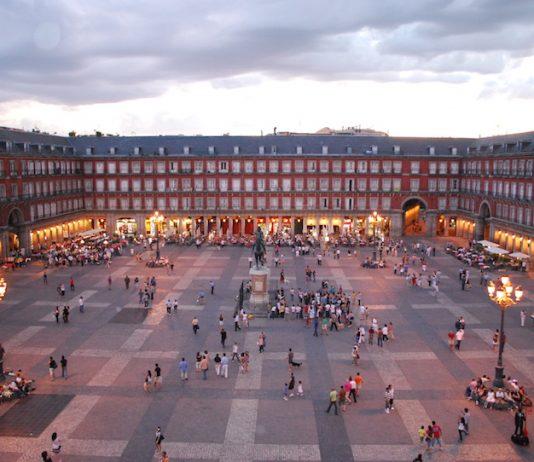 Madrid's Plaza Mayor. Photo by Wikimedia Commons