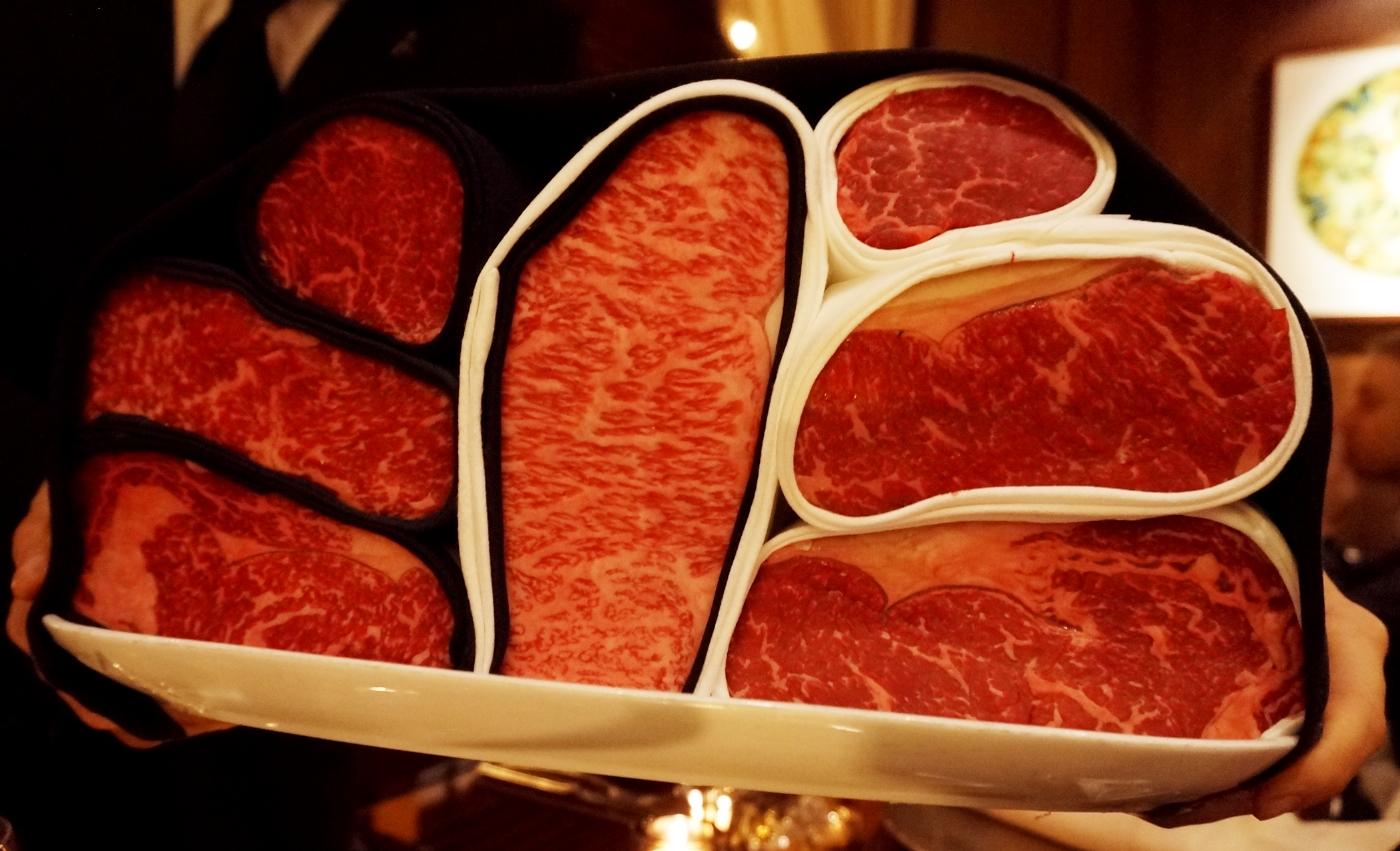 Steak at CUT