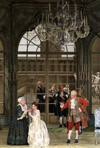 Act 2 in Der Rosenkavalier at the Bavarian State Opera.