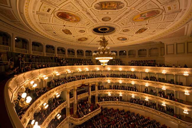 How to attend an opera in Germany: Tips for attending an opera at Semper Opera in Dresden, Germany. Photo by Klaus Gigga