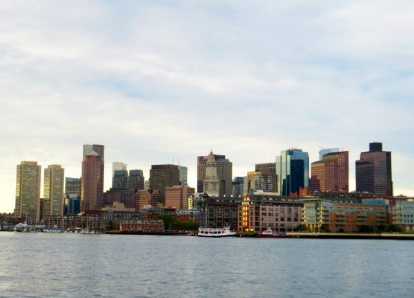 Boston Skyline. Photo by Frank Hosek
