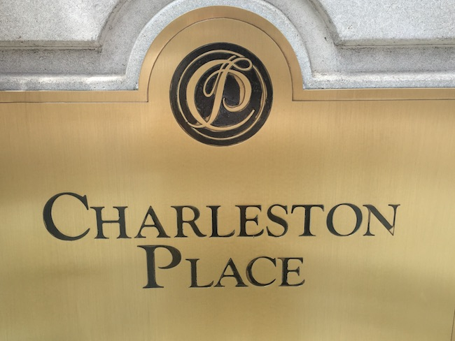 The most prestigious address in Charleston. Photo by Claudia Carbone