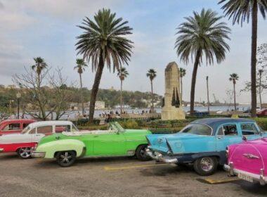Havana, Cuba. Classic American cars line the streets of Old Havana. Photo by Christina Lyon
