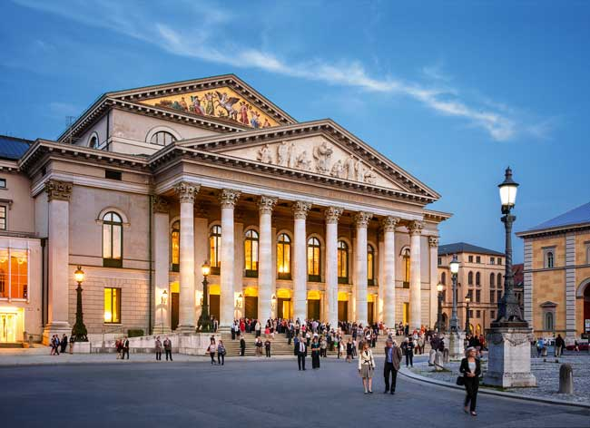 Opera in Germany - The National Theater in Munich ©Felix Löchner