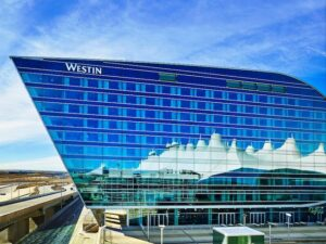 Sunrise, Sunset Spectacular at Denver Airport's Westin DIA Hotel