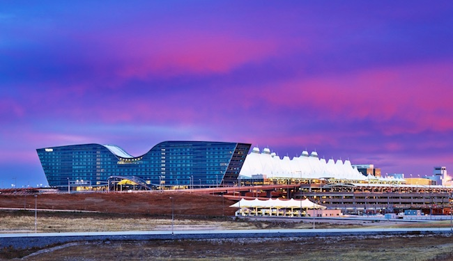 Sunrise at the Westin DIA. Photo courtesy of Westin DIA.