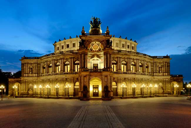 Dresden Semper Opera House courtesy Semperoper Dresden
