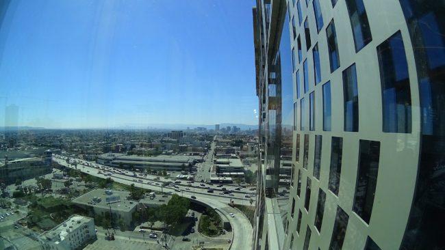 Hotel Indigo DTLA view