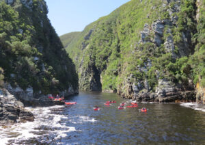 Conquering Demons: Kayak Adventure in South Africa