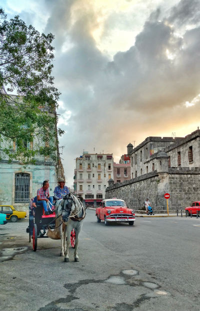 Cuba has many means of transportation. Photo by Christina Lyon