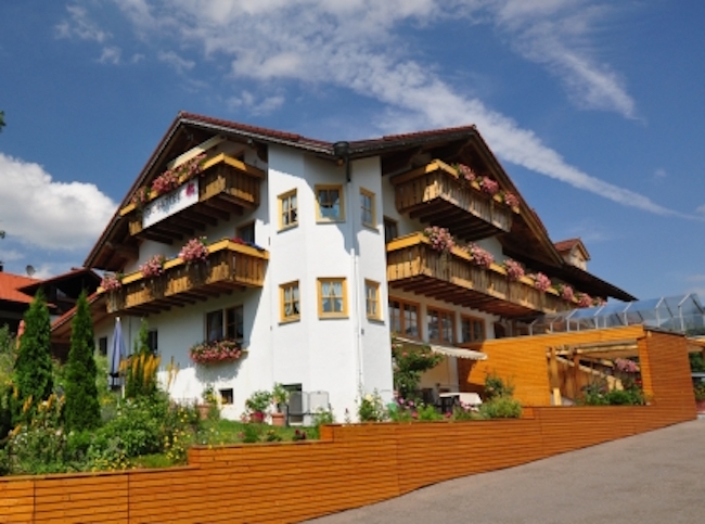 Berghüs Schrott, Oberstaufen-Steibis, Germany. Photo courtesy of VeggieHotels/Berghüs Schratt