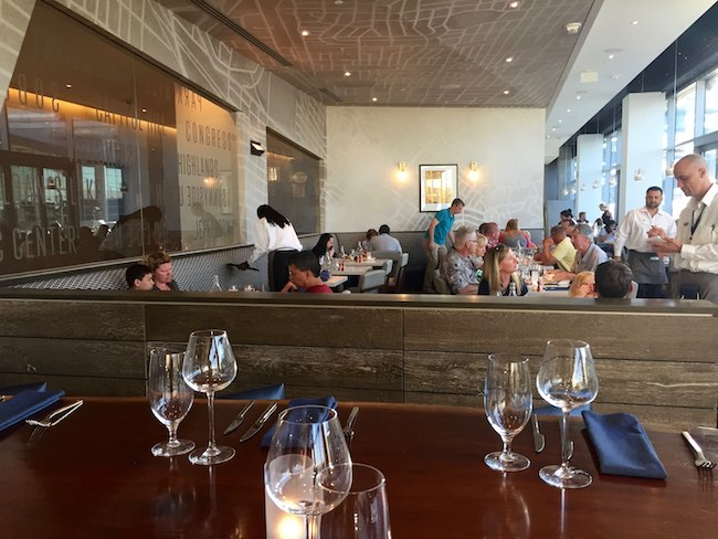 Grill and Vine Restaurant is a busy place. Photo by Claudia Carbone