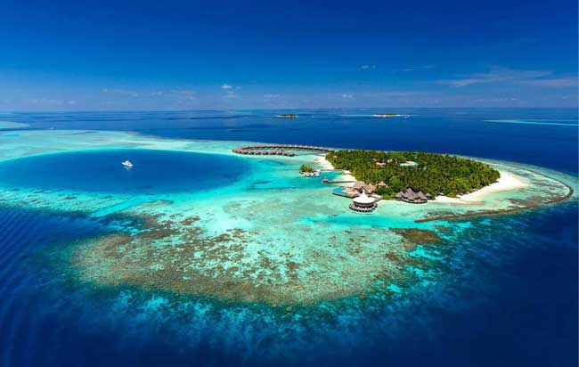 Baros is a private island in the Maldives. It has a reputation as one of most romantic resorts in the region. Photo courtesy Baros Maldives