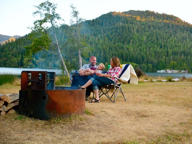 Log Cabin Resort RV & Campground in Olympic National Park in Washington. Photo courtesy of Aramark Leisure
