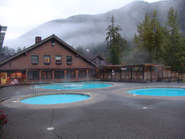 Sol Duc Hot Springs RV & Campground in Olympic National Park in Washington. Photo courtesy of Aramark Leisure