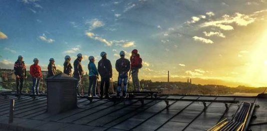 Bird's Eye View: Rooftop Tours in Stockholm