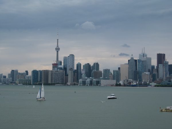 Great Lakes. The Toronto Skyline. Photo by Pat Woods