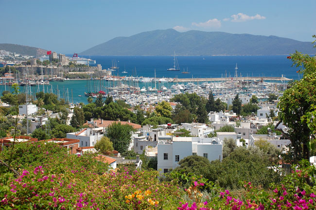 Overlooking Bodrum, Turkey. Flickr/Ming-yen Hsu