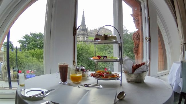 Quintessentially Scottish Breakfast