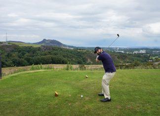 Braid Hills golf view