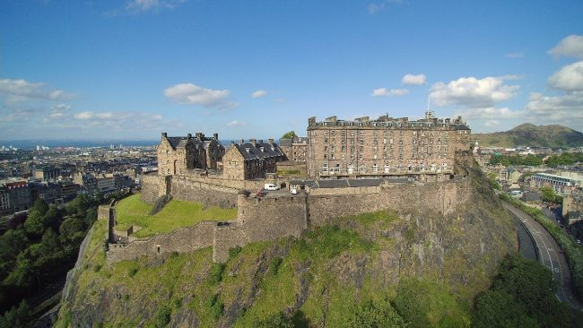Enjoy These Beautiful Drone Views of Edinburgh