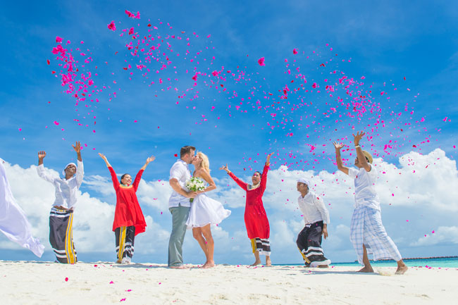 Getting married in the Maldives was even better than I could have imagined. Photo by Muha Photos