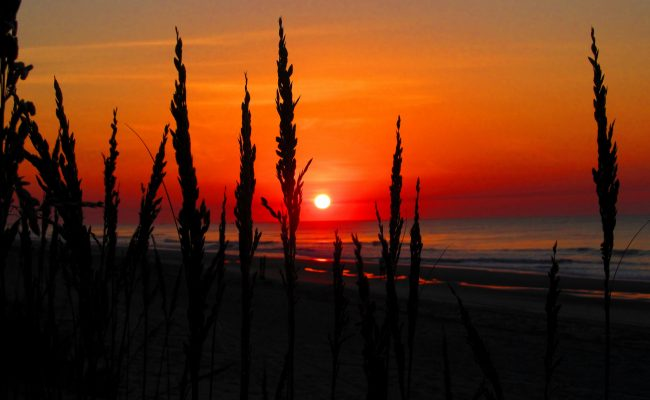 Myrtle Beach sunrise. Photo by Flickr/David Cooper