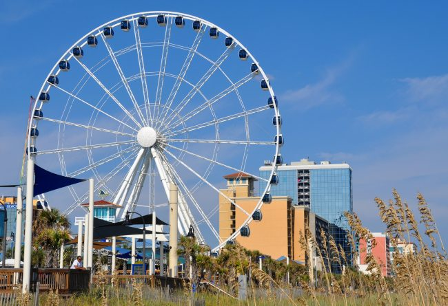 There is plenty to do at Myrtle Beach.