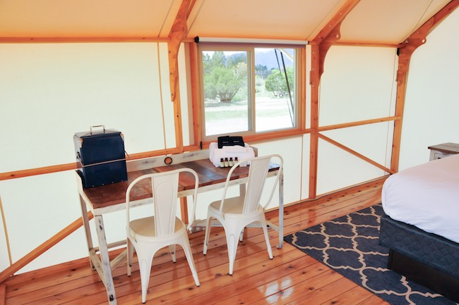Cozy amenities. Photo courtesy of Echo River Expeditions