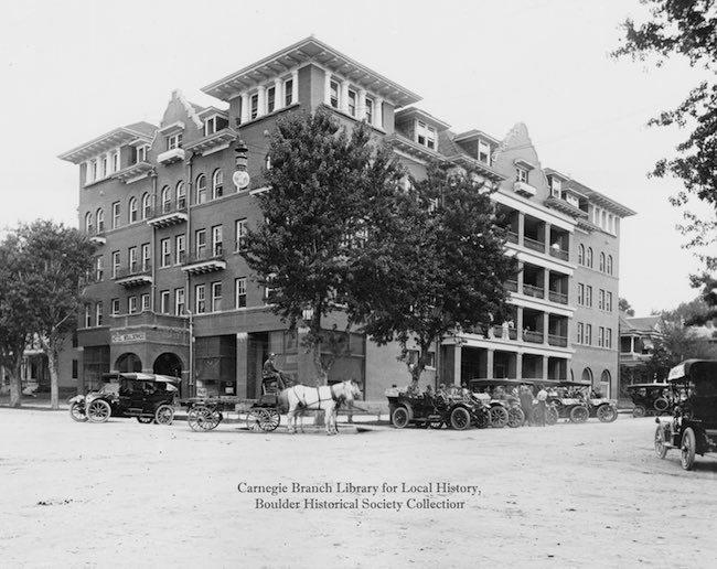 Hotel Boulderado circa 1900s. Photo courtesy of Hotel Boulderado.