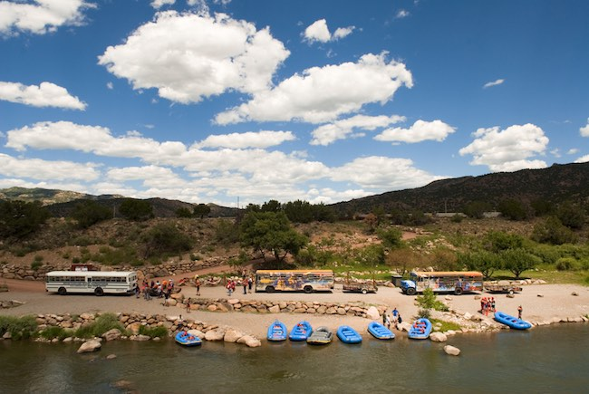 Ready for adventure on the Arkansas River. Photo courtesy of Echo Canyon River Expeditions