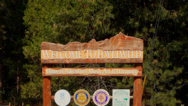 Idyllwild california
