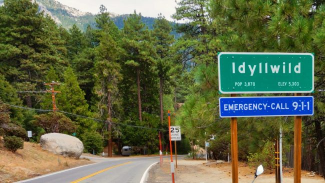 A Day Trip to Idyllwild