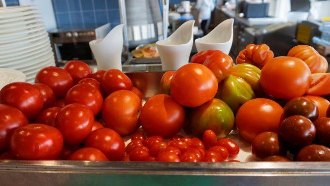 Fresh tomatoes in Rome