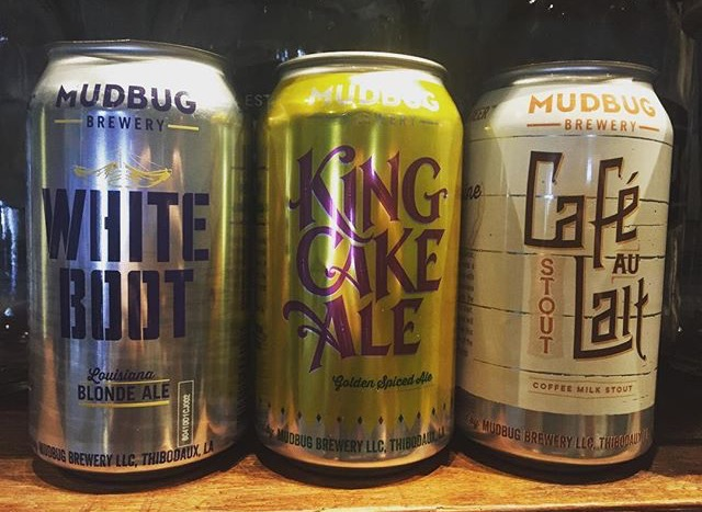 Local brews from Mudbug Brewery. Photo by Fyllis Hockman