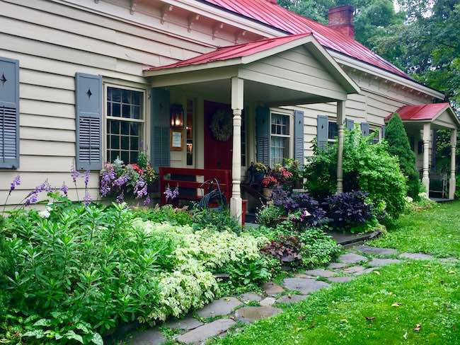 Olde Rhinebeck Inn, circa 1700s. Photo by Claudia Carbone