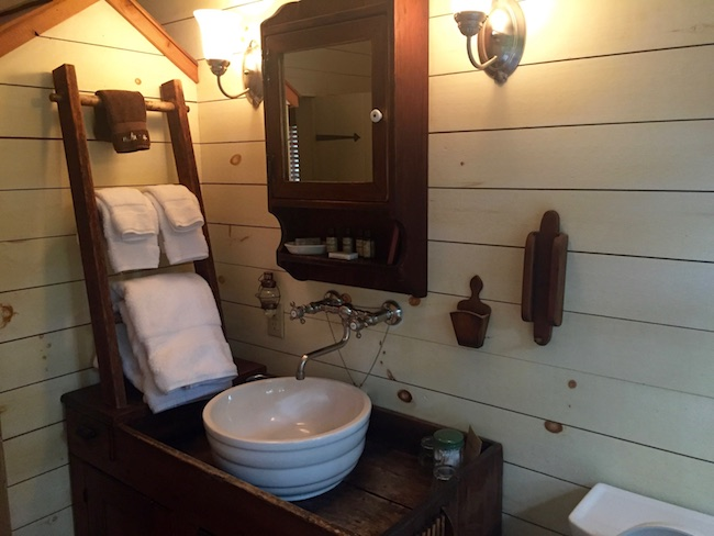 Bathroom in Plow and Harrow Suite. Photo by Claudia Carbone
