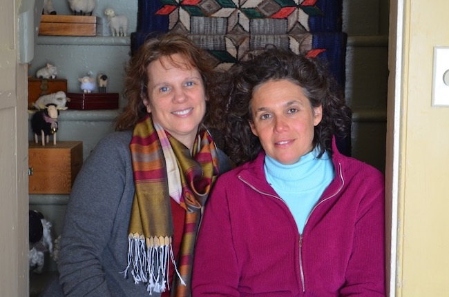 Cindy Curnan, left, and Jonna Paolella, innkeepers at Olde Rhinebeck Inn. Photo courtesy of Olde Rhinebeck Inn