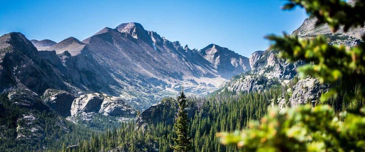 rocky mountains in estes park