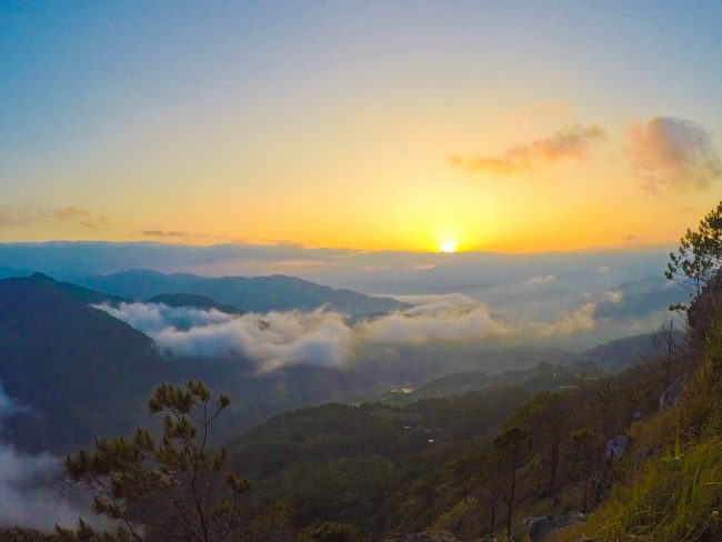 Sagada Yes, that sunrise is real. This one viewed from Mt. Kiltepan. Photo by Zandra Mae Estallo