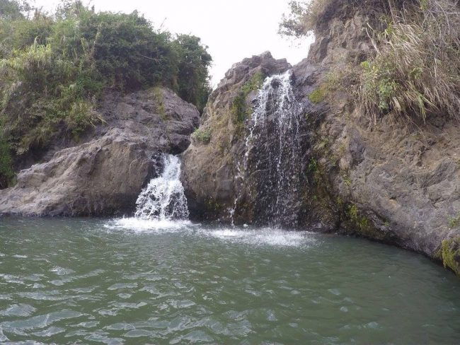 Sagada Small Falls also known as the Bokong Falls. Photo by Zandra Mae Estallo