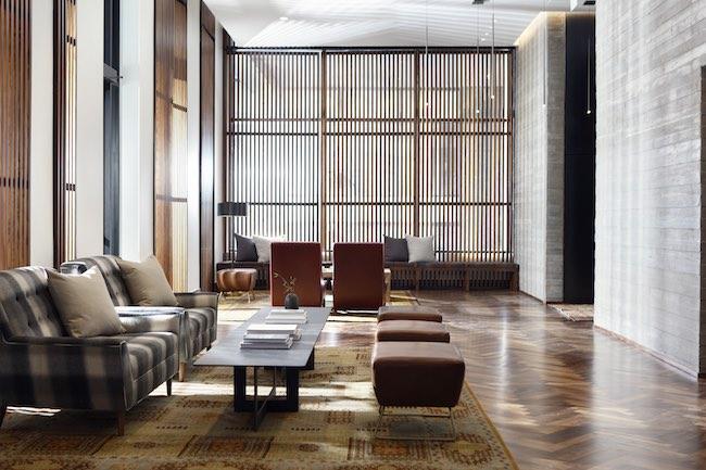Lobby of Kimpton Hotel Born. Photo Courtesy of Kimpton Hotel Born