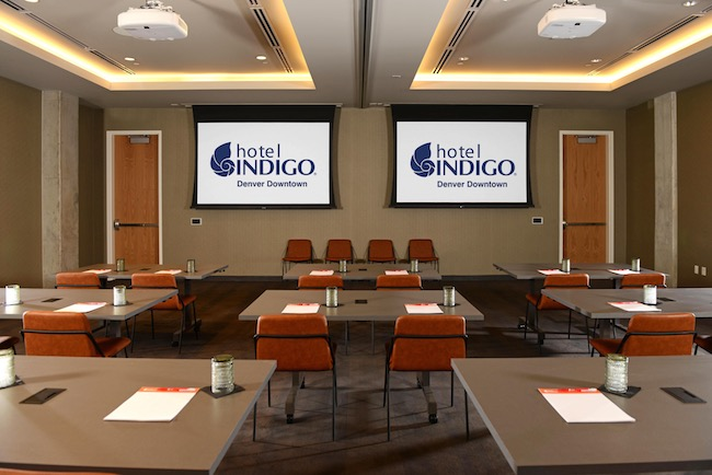Meeting room. Photo courtesy of Hotel Indigo