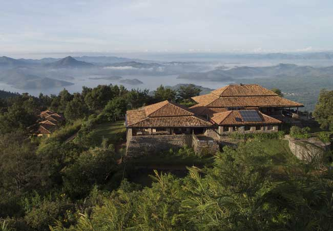 Virunga Lodge by Volcanoes Safaris.