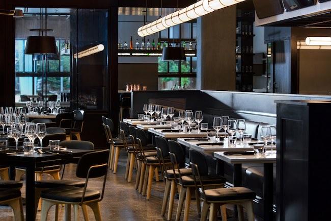 Dining room at Citizen Rail. Photo courtesy of Kimpton Hotel Born