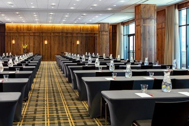 Aspen meeting room. Photo courtesy of Kimpton Hotel Born