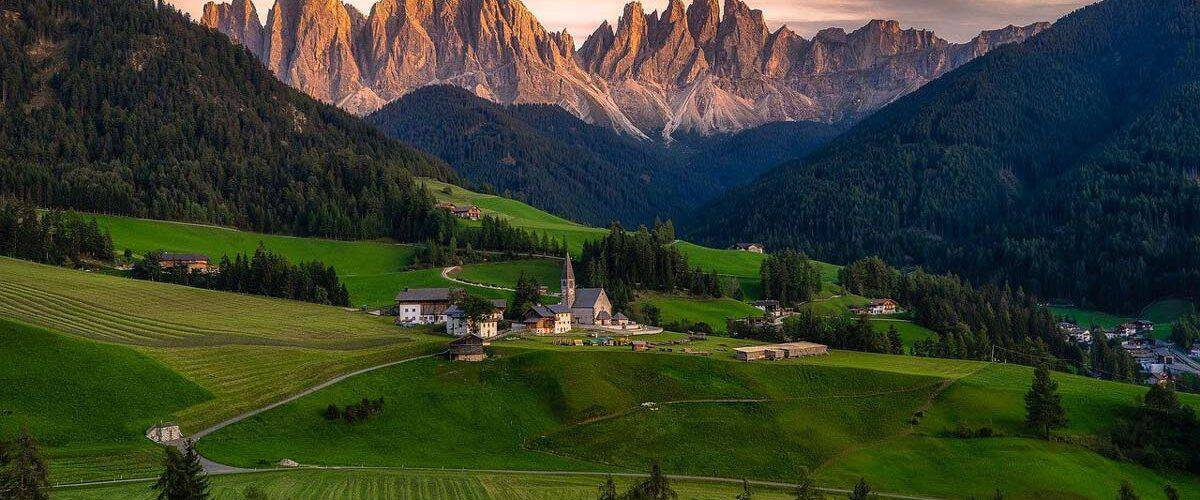 Travel to the Dolomites in Italy